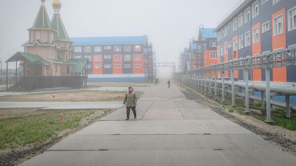 Троицкийхрамв поселкеСабетта. Ямало-ненецкий автономный округ