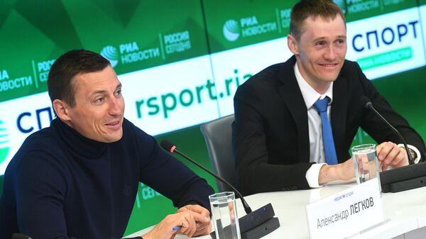 Александр Легков и Никита Крюков (слева направо)