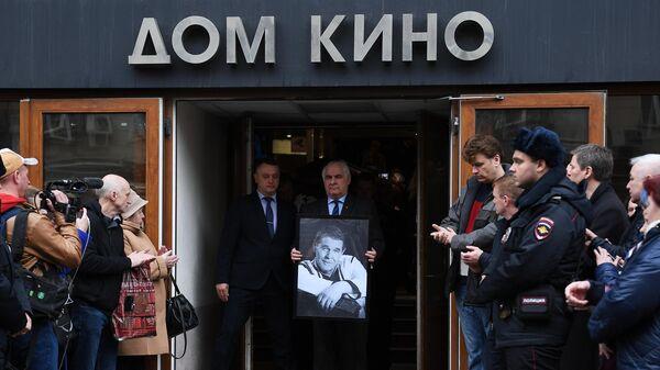Прощание с актером Алексеем Булдаковым