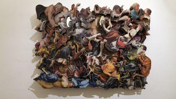 Картина Павла Киселева Новое сообщение: postimage.jpg, Московский музей современного искусства