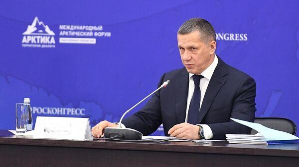 Полномочный представитель президента в ДФО Юрий Трутнев