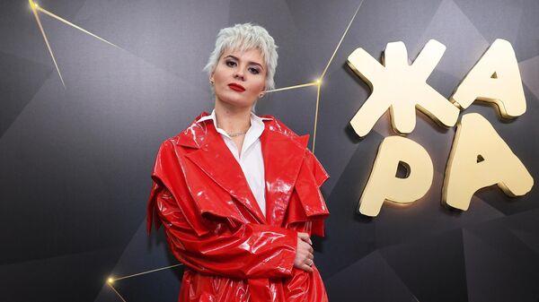 Певица Анна Шульгина (Shena) перед вручением музыкальной премии Жара Music Awards