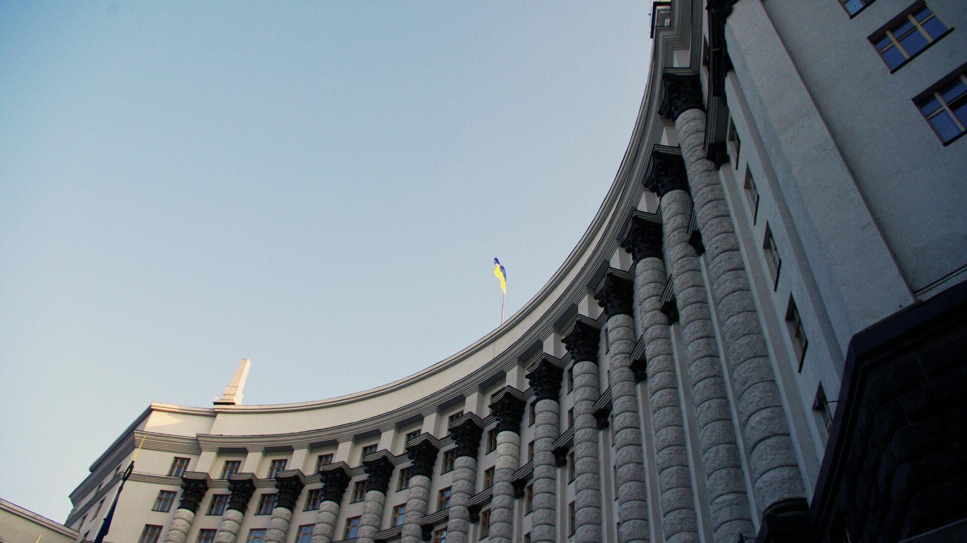 Здание Кабинета министров Украины в Киеве - РИА Новости, 1920, 16.10.2020
