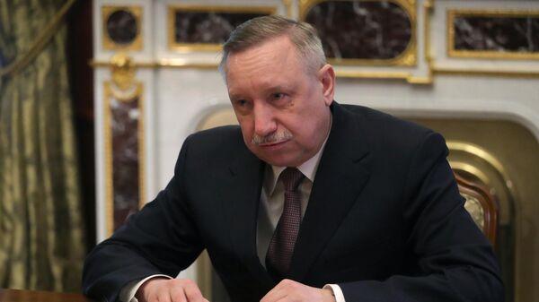 Временно исполняющий обязанности губернатора Санкт-Петербурга Александр Беглов