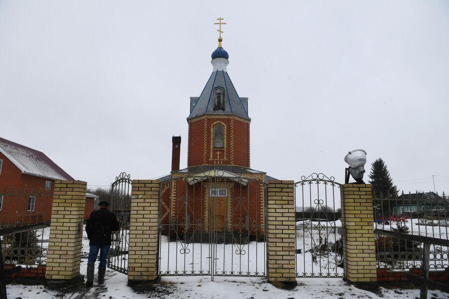 Православный храм в деревне Аполлоновка