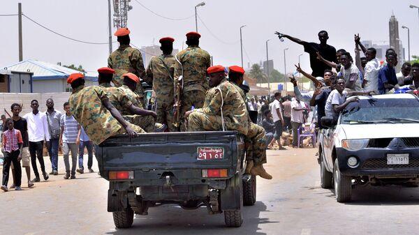 Суданские военные в Хартуме