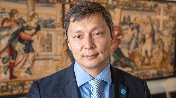 Русскоязычный политик, член Центристской партии, председатель таллинского горсобрания Михаил Кылварт