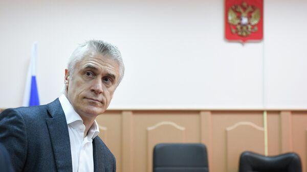 Основатель фонда Baring Vostok Майкл Калви на заседании в Басманном суде Москвы