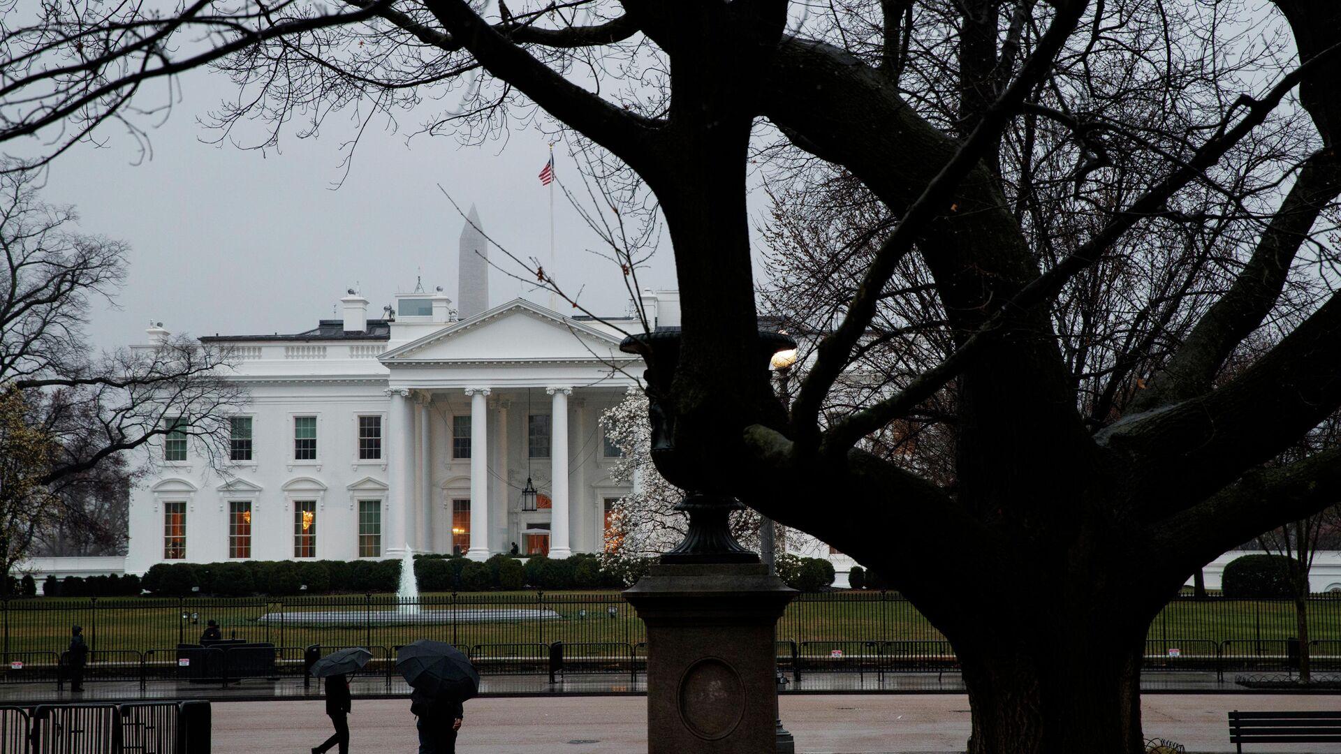 Здание Белого дома в Вашингтоне, США - РИА Новости, 1920, 03.03.2021