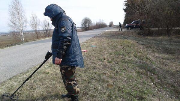 Следователи на месте происшествия в Большеберезниковском районе