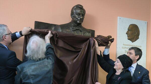 Открытие памятника  Жоресу Алфёрову в Санкт-Петербурге
