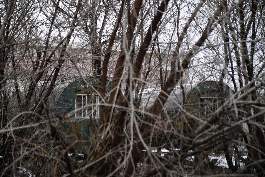 Жилые цистерны в Кировском районе Омска