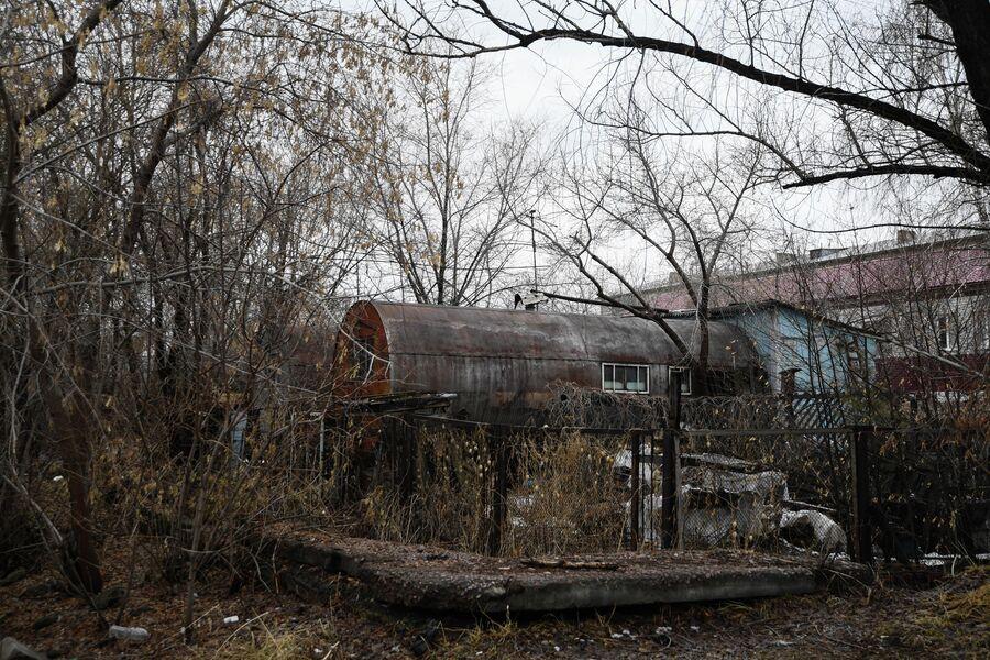 Жилые бочки в Кировском районе Омска
