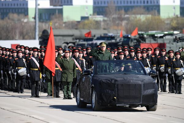 Репетиция Парада Победы в Алабино
