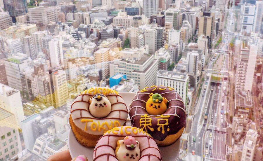 Токио, пончики