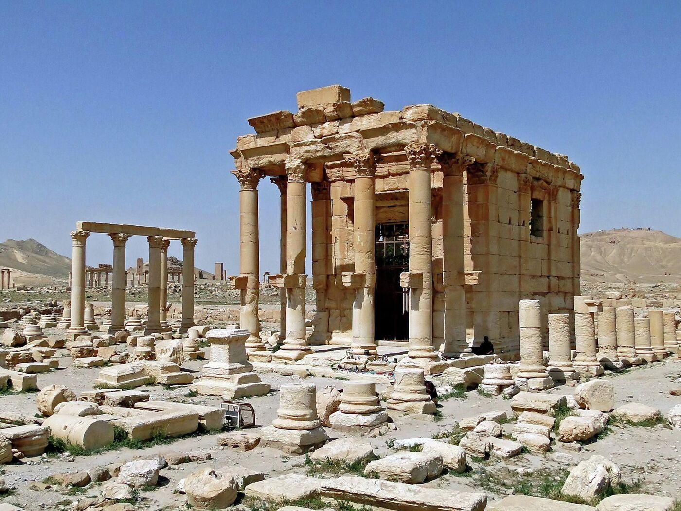 Обои palmyra, бэла, temple, древний, сирия, пальмира. Города foto 7