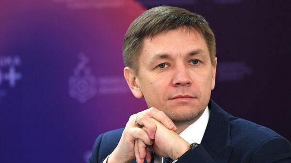 Министр цифрового развития, связи и массовых коммуникаций РФ Константин Носков. Архивное фото