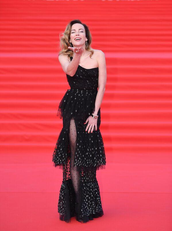 Актриса Ольга Зайцева на открытии 41-го Московского Международного кинофестиваля (ММКФ)