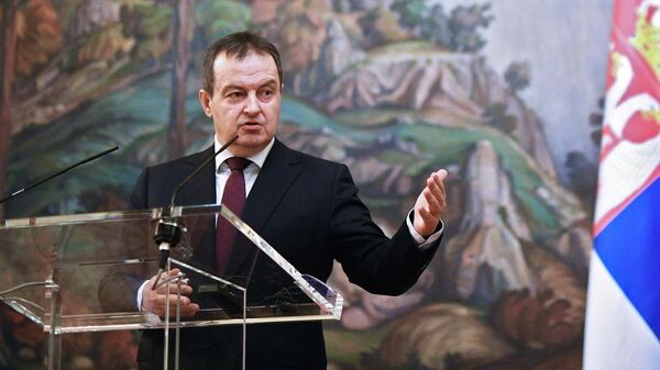 Министр иностранных дел Республики Сербии Ивица Дачич