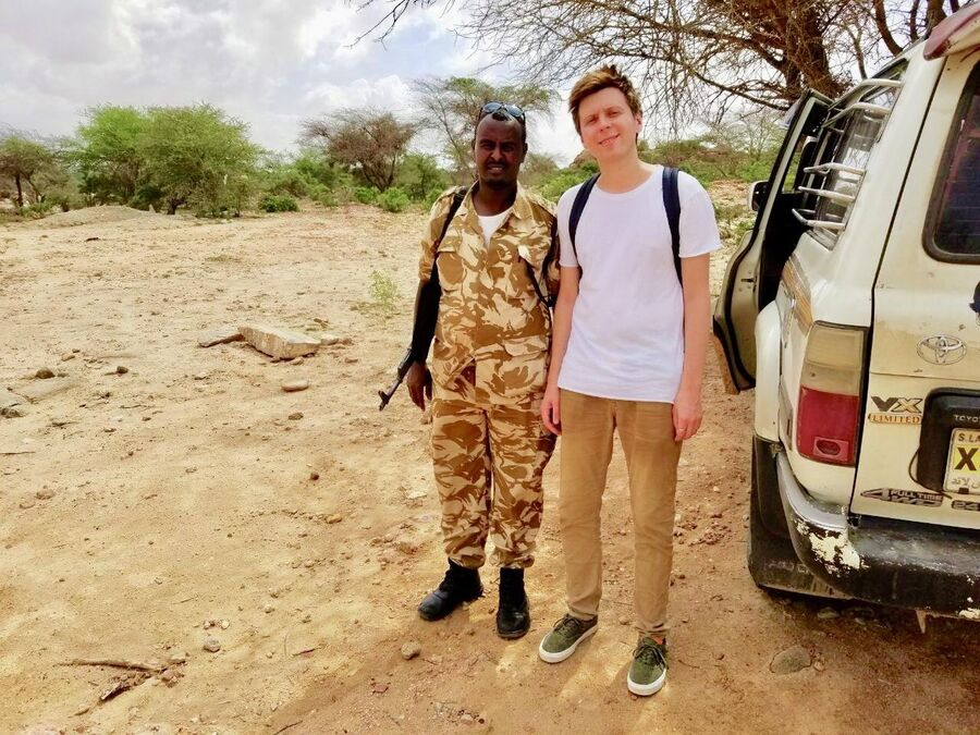 У скал Лаас Гил, Сомалиленд