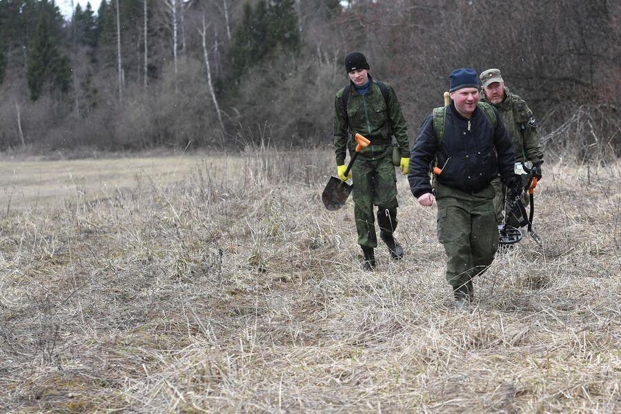 Участники поискового отряда КитежЪ