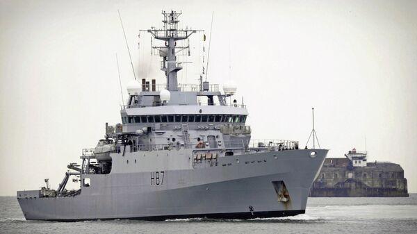 Корабль Королевских ВМС Великобритании HMS Echo (H87)