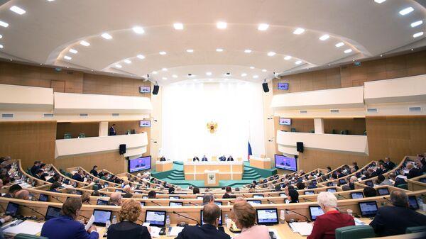 Заседание Совета Федерации РФ. 22 апреля 2019