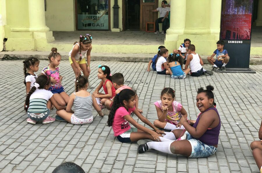 Дети, Гавана, Куба