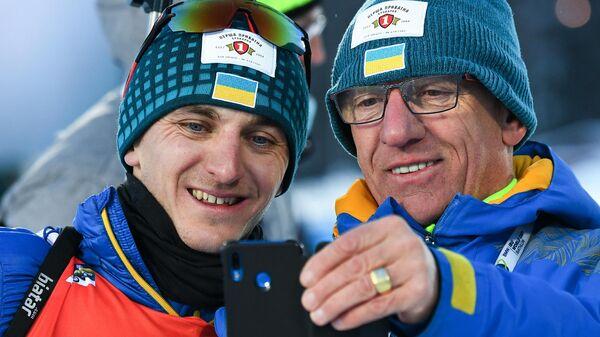Дмитрий Пидручный (слева) и Юрай Санитра