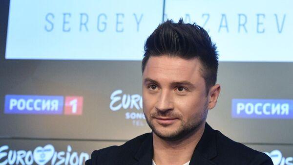Сергей Лазарев на пресс-конференции, посвященной Евровидению — 2019