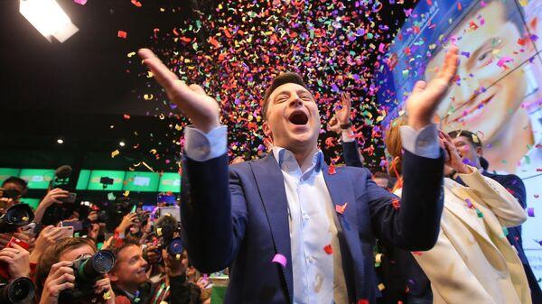 Российский шоубиз поздравил Зеленского и засобирался на Украину