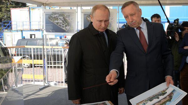 Беглов проинформировал Путина о развитии Петербурга