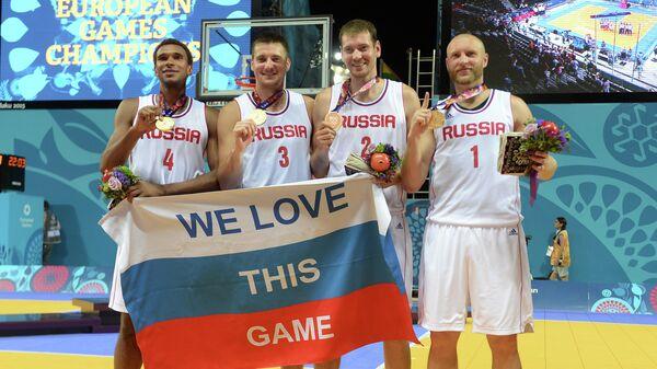 Баскетболисты сборной России 3х3