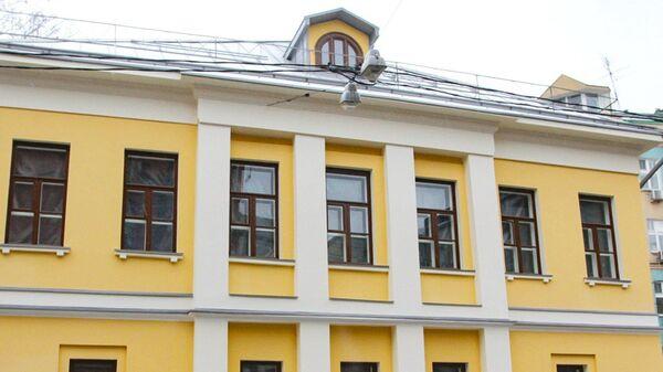 Главный дом городской усадьбы начала XIX века в Дашкове переулке в Москве