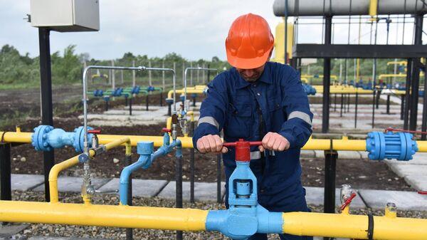 Газовое месторождение во Львовской области Украины