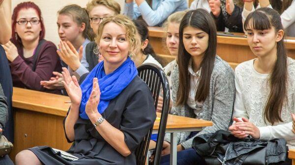 Доктор педагогических наук профессор БФУ им. Канта Бударина Анна Олеговна