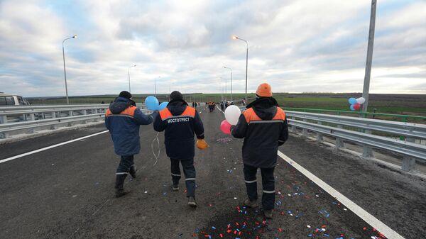 Открытие двух новых скоростных платных участков на автодороге М-4 Дон