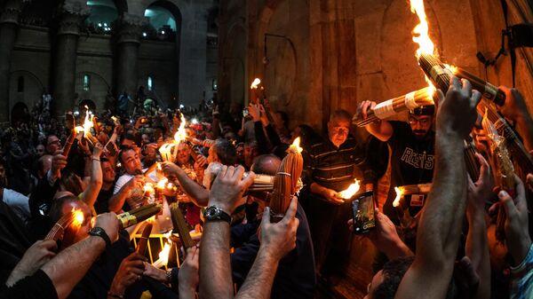 Церемония Благодатного огня пройдет в Иерусалиме в закрытом режиме