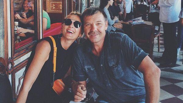 Алиса Знарок со своим отцом Олегом Знарком