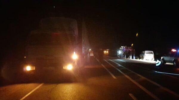 Автобус с 54 пассажирами вылетел в кювет после столкновения с грузовиком в Орловской области