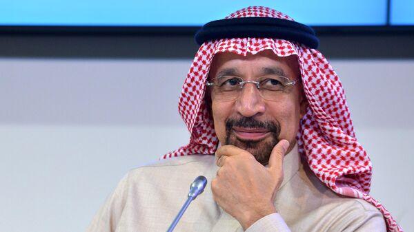 Министр энергетики Саудовской Аравии Халид аль-Фали