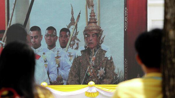 Коронация Маха Ватчиралонгкона (Рама Х) в Бангкоке, Таиланд. 4 мая 2019