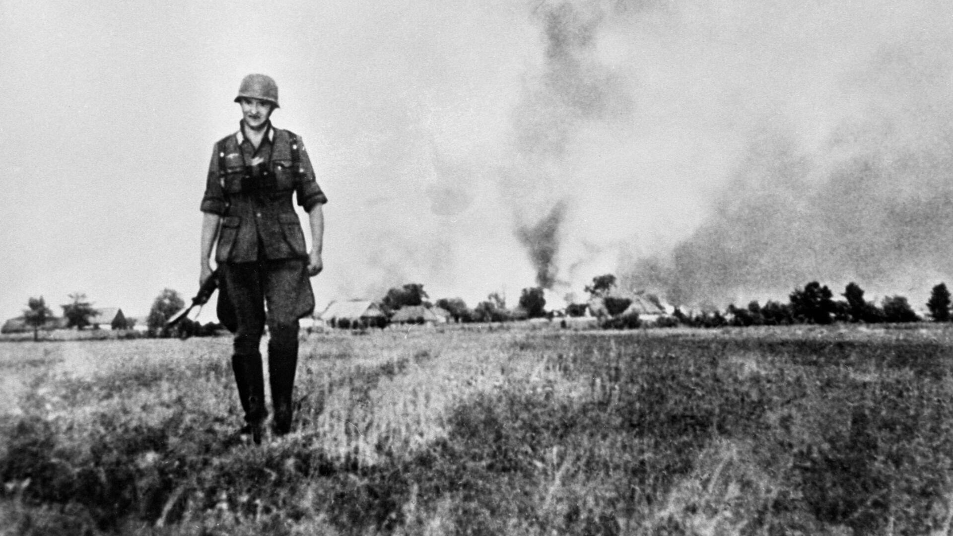 Великая отечественная война 1941-1945 гг. Гитлеровский солдат - РИА Новости, 1920, 26.11.2020