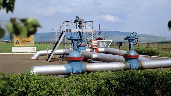 Нулевая отметка нефтепрвода Дружба в Татарстане