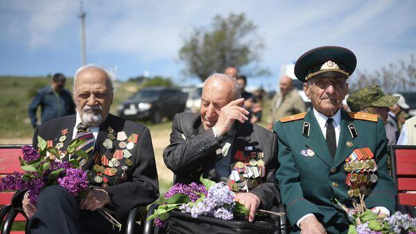 Ветераны в Крыму