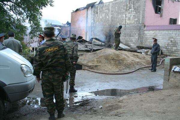 Спецоперация по ликвидации боевиков. Архив