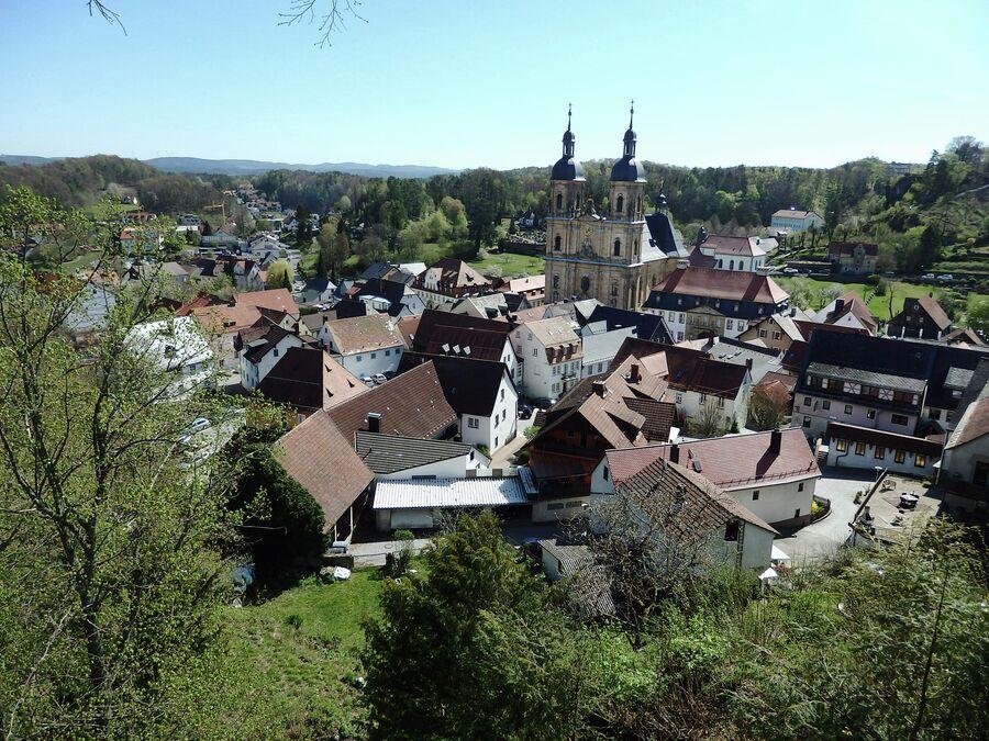 Вид из замка Гёсвайнштайн