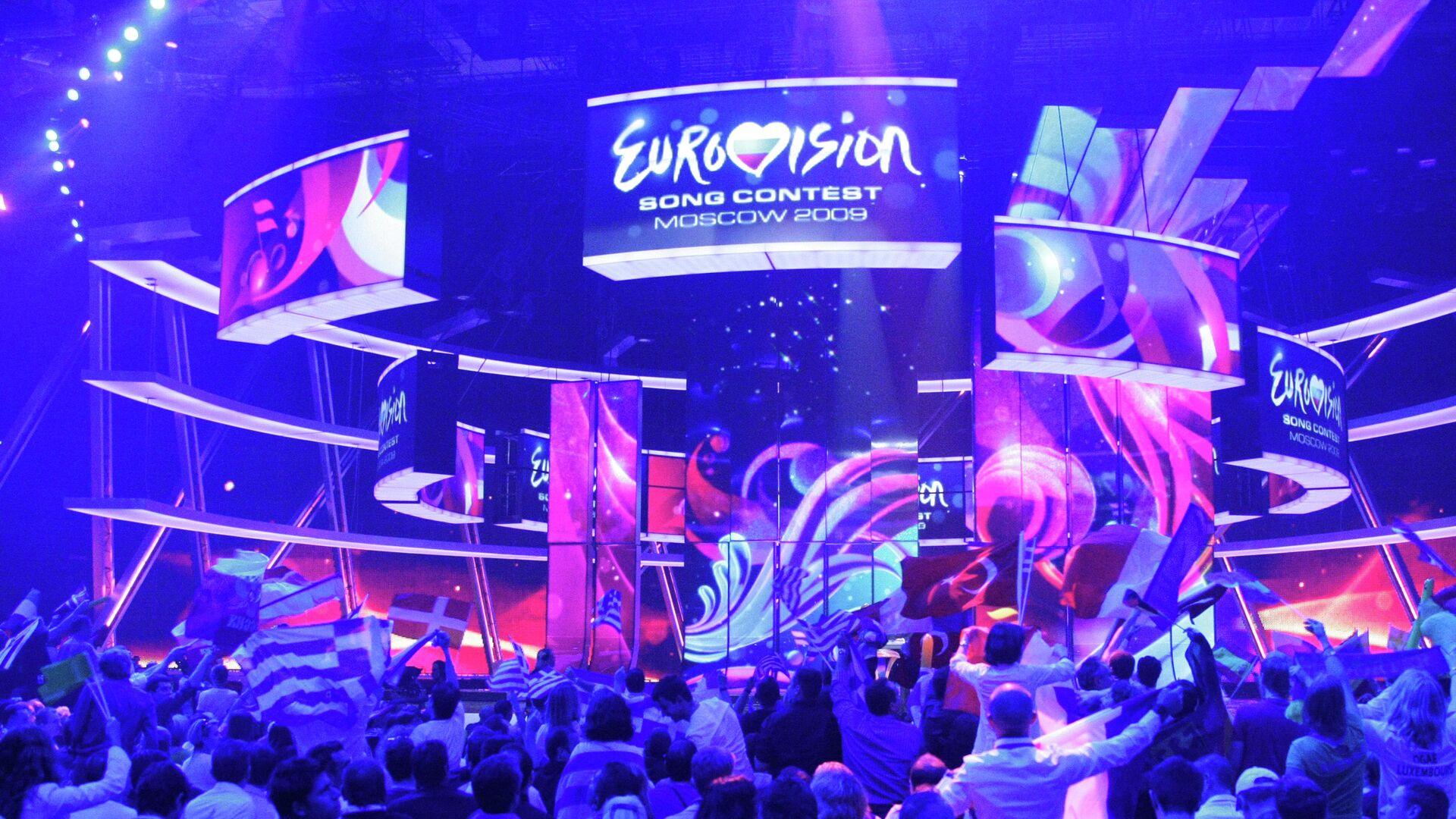 Во время финала конкурса Евровидение - РИА Новости, 1920, 18.11.2020