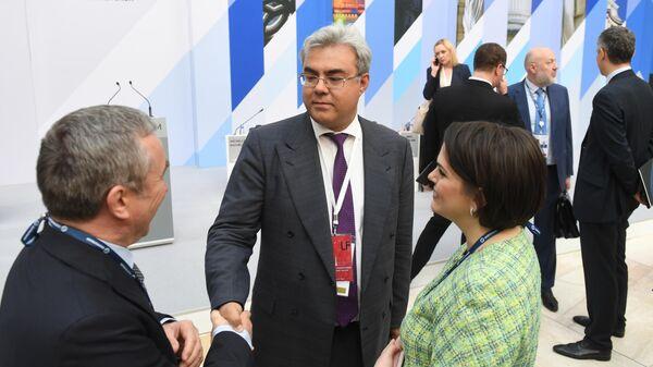Участники IX Петербургского международного юридического форума в Санкт-Петербурге