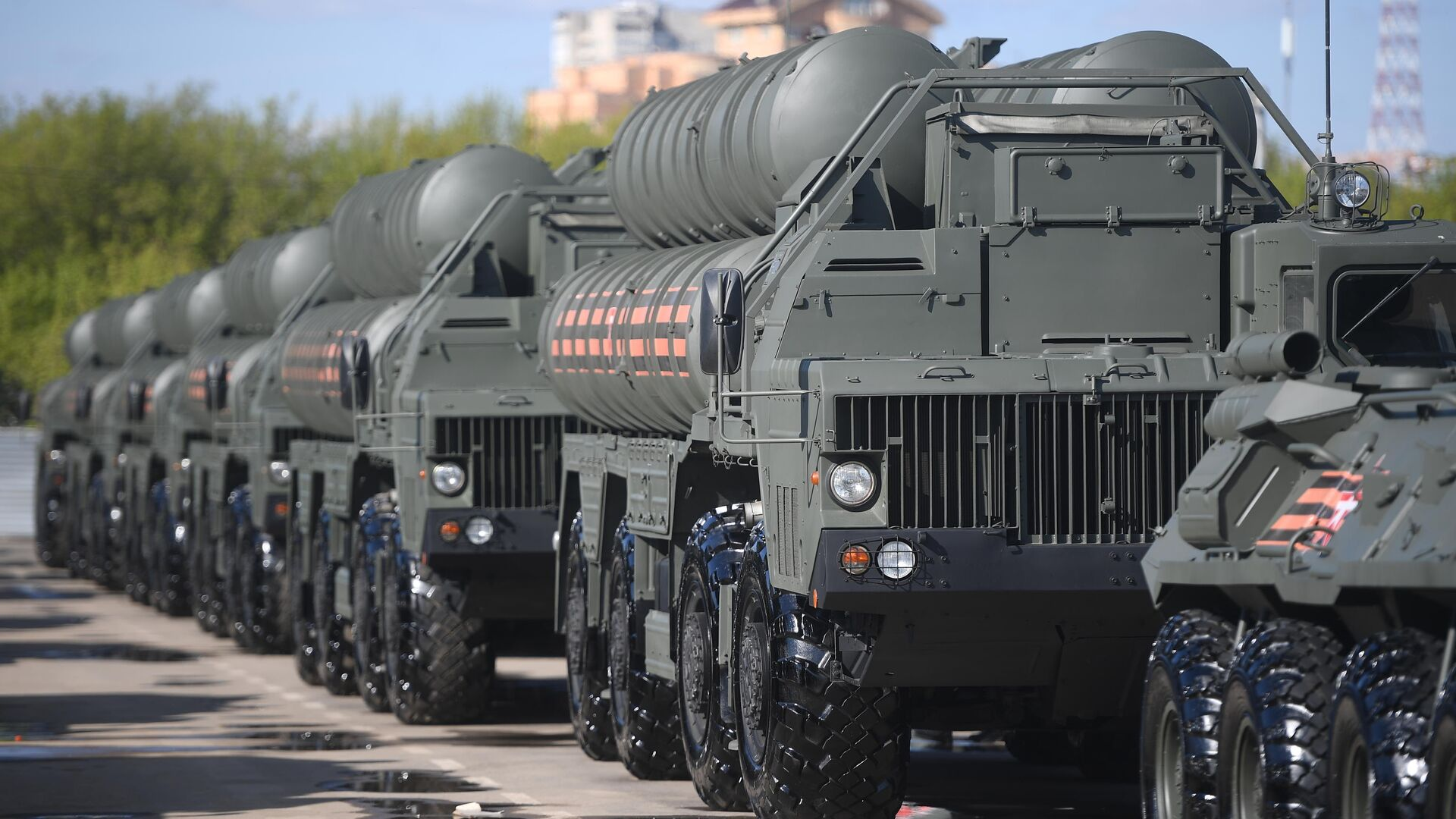 Зенитные ракетные комплексы С-400 Триумф - РИА Новости, 1920, 08.01.2021